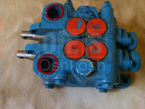 Front Winch and Dump Body Hydraulic Control Valve