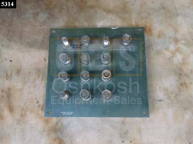 Reconnection Terminal Board - Used Serviceable