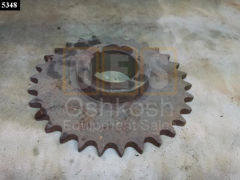 Wrecker Rear Winch Chain Driven Sprocket - Used Serviceable