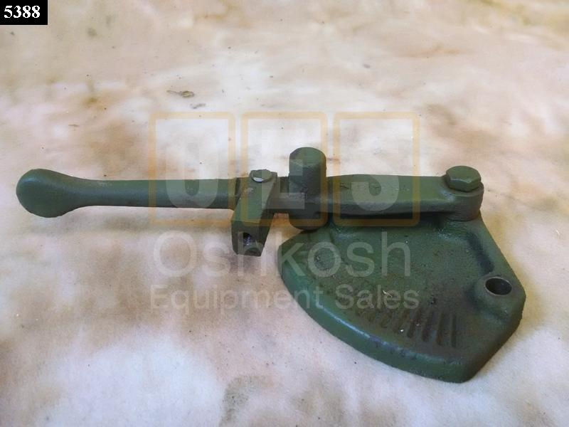 Wrecker Bed Throttle PTO Control Lever - Used Serviceable