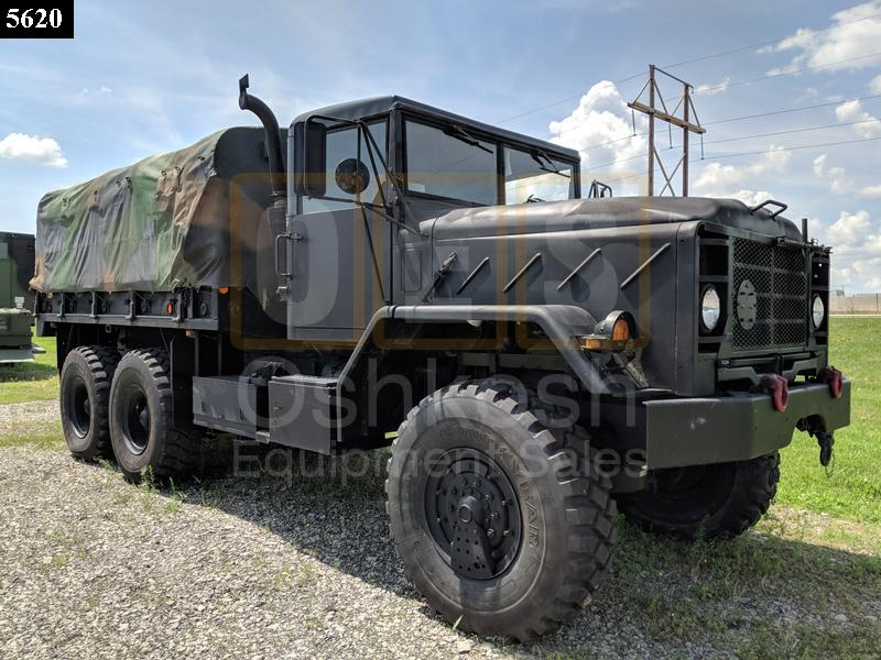 M923A2  Military Cargo Truck 5 Ton 6x6  (C-200-116) - Rebuilt/Reconditioned