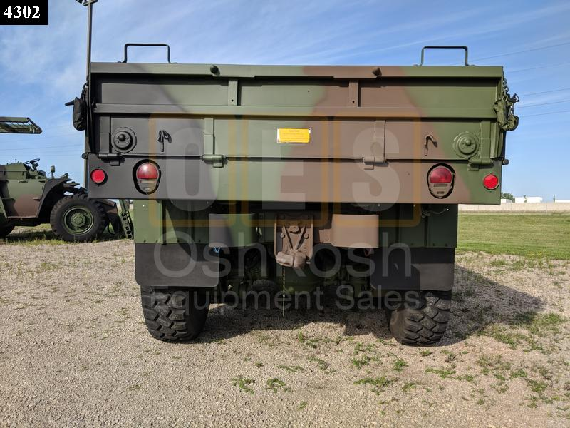 M923A2 Military Cargo Truck 5 Ton 6x6 (C-200-96) - Rebuilt/Reconditioned