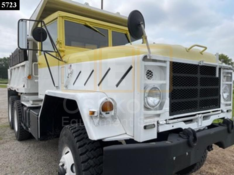 M929 6x6 Military Dump Truck (D-300-109) - Rebuilt/Reconditioned