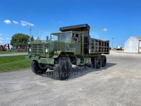 Military Dump Truck with 16'  Warren 17 Yard Body (D-300-107)