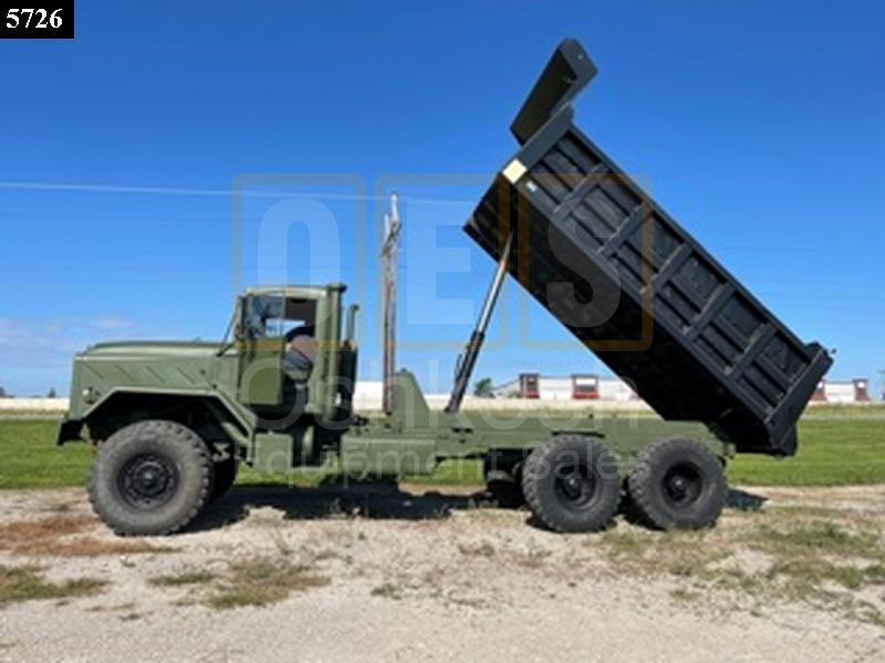 Military Dump Truck with 16'  Warren 17 Yard Body (D-300-107) - New Replacement