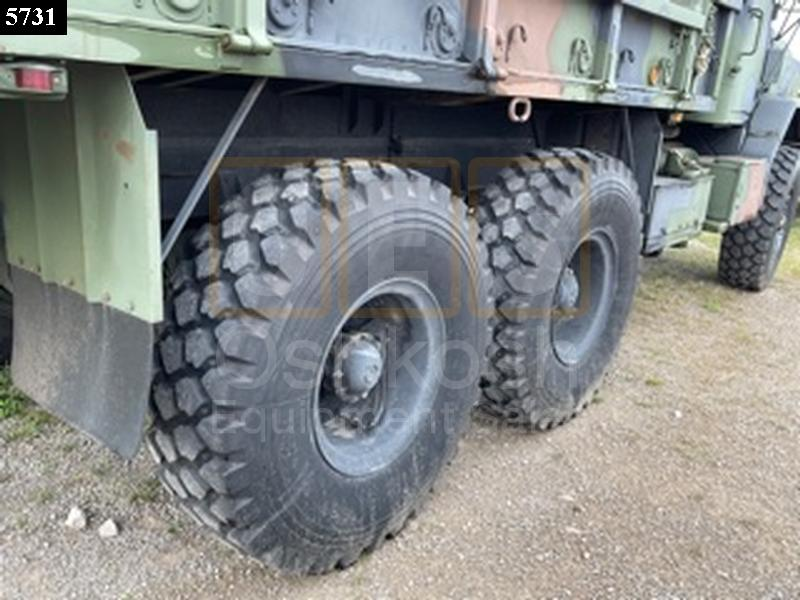 M923A2 5 TON 6X6 MILITARY CARGO TRUCK (C-200-141) - Rebuilt/Reconditioned