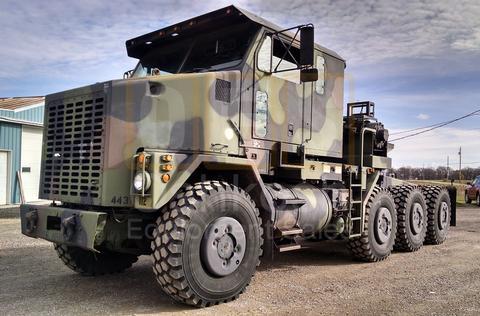 military tractor trucks oshkosh equipment