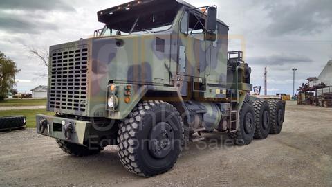 M1070 8x8 HET Military Heavy Haul Tractor Truck (TR-500-63)