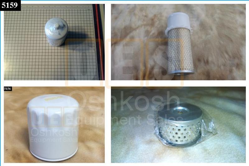 Filter Kit for MEP802A MEP803A and MEP812A MEP813A - New Replacement