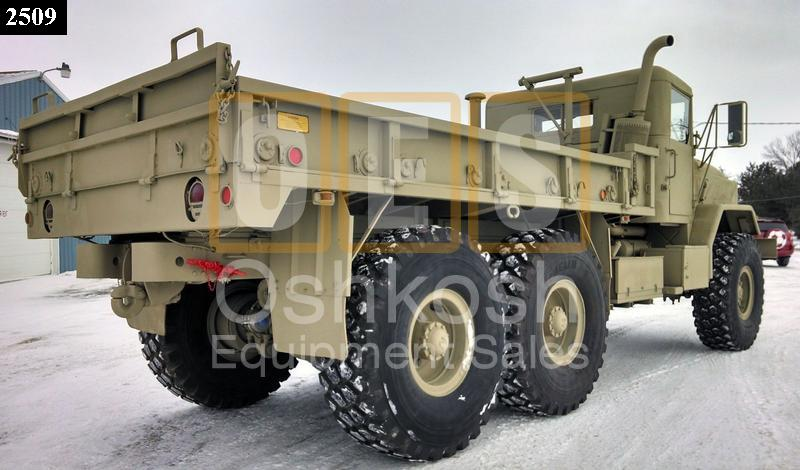 M925 5 Ton 6x6 Military Cargo Truck (C-200-54) - Rebuilt/Reconditioned