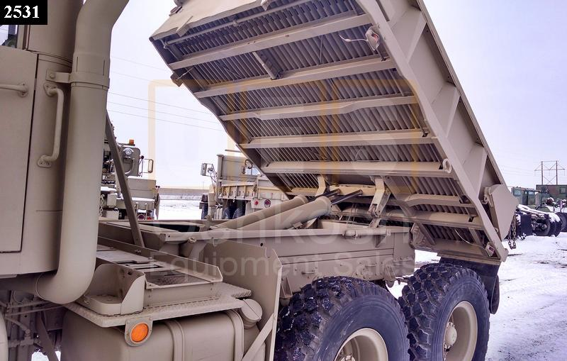 M929A2 5 Ton 6x6 Military Dump Truck (D-300-81) - Rebuilt/Reconditioned