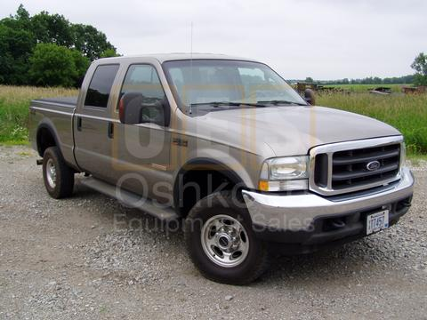 2004 Ford F-350 Lariat Super Duty Crew Cab (6.0 Powerstroke!)