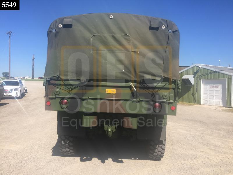 M923A2 5 Ton 6x6 Military Cargo Truck (C-200-107) - Rebuilt/Reconditioned