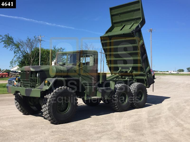 M817 - 5 Ton 6x6 Military Dump Truck (D-300-49) - Rebuilt/Reconditioned