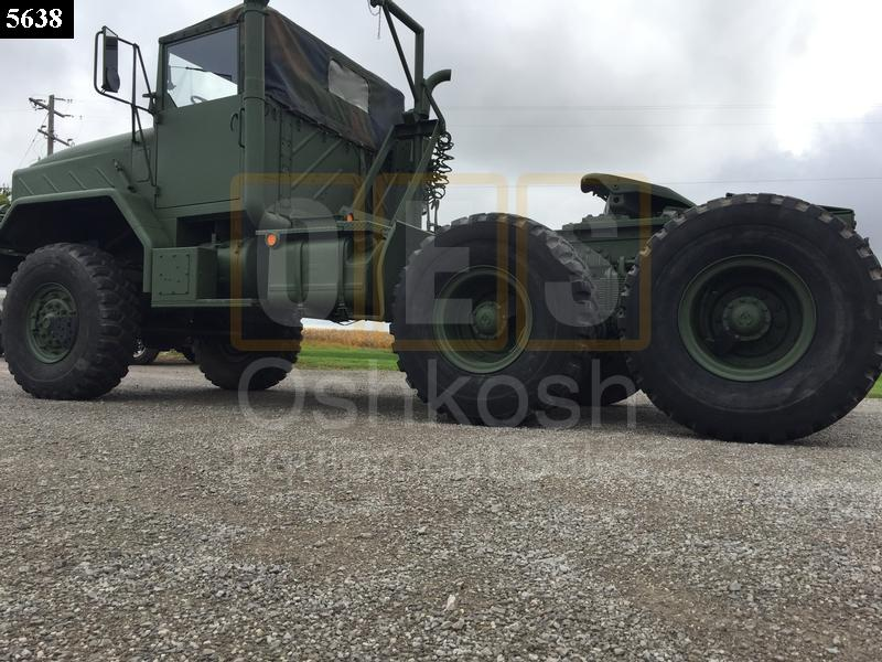 M931A2 6x6 5 Ton Military Tractor Truck (TR-500-67) - New Replacement