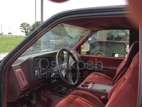1991 GMC 1500 4X4 Z-71 V-8 Manual Transmission
