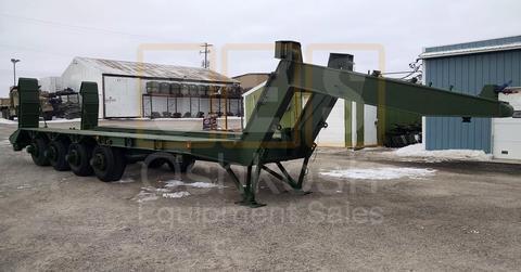 M747 60 Ton Military Lowboy Trailer (T-1100-31)