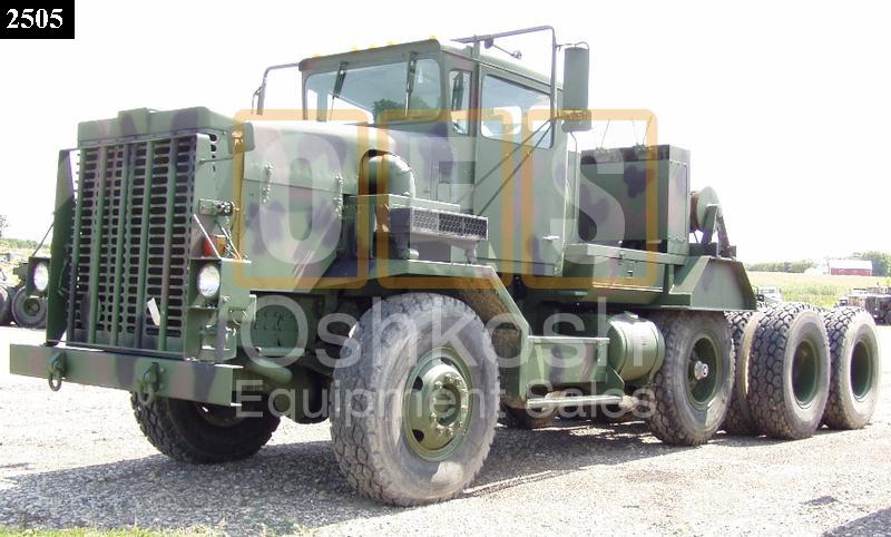 M911 22.5 Ton 8x6 Military Heavy Haul Tractor (TR-500-30) - Rebuilt/Reconditioned