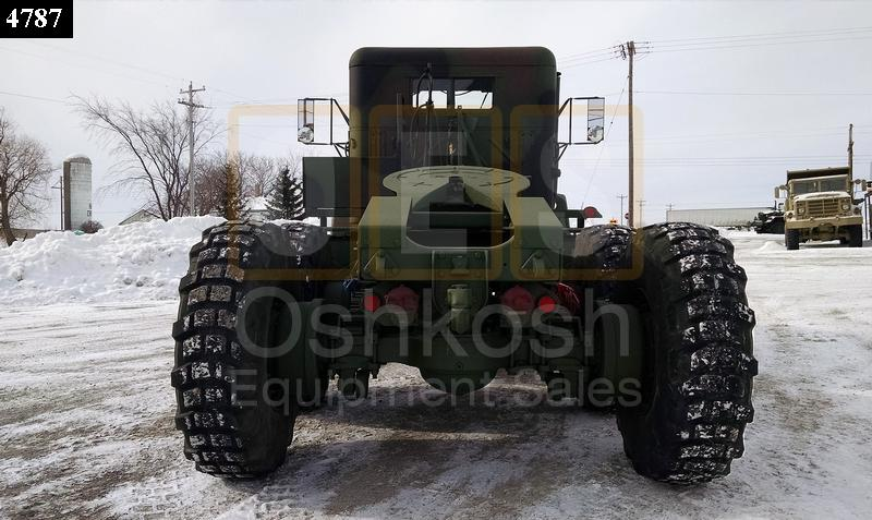 M818 6x6 5 Ton Military Tractor Truck (TR-500-52) - Rebuilt/Reconditioned