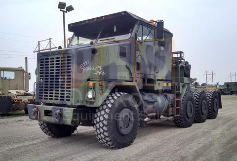 M1070 8X8 HET MILITARY HEAVY HAUL TRACTOR TRUCK (TR-500-62)