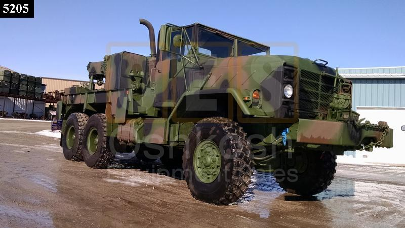 M936A1 5 Ton 6x6 Military Wrecker Truck (WR-400-19) - Rebuilt/Reconditioned